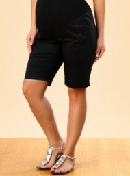 Black maternity shorts 9926 funky muma breastfeeding pregnancy maternity wear