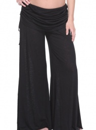 BDA_black_bamboo_pants funky_muma_breastfeeding_pregnancy_maternity_wear.jpg 
